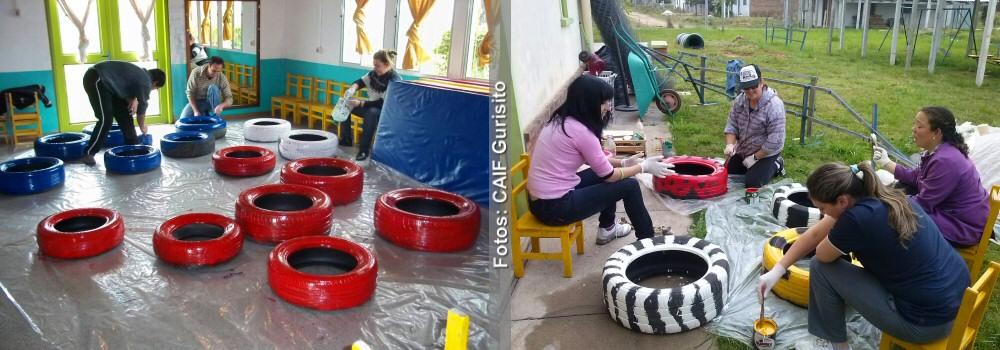 Caif Gurisito De Rio Branco Inaugurara El Rincon De Juegos Raquel